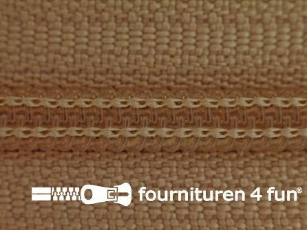 Niet deelbare broek rits nylon 4mm beige