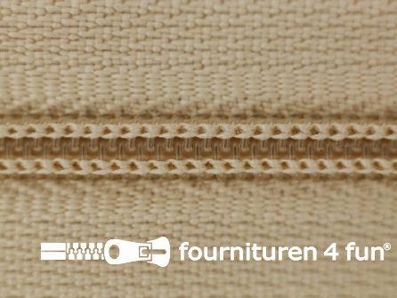 Niet deelbare broek rits nylon 4mm zand