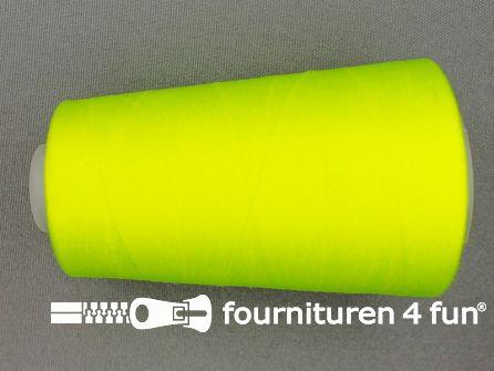Lockgaren 4 stuks neon geel