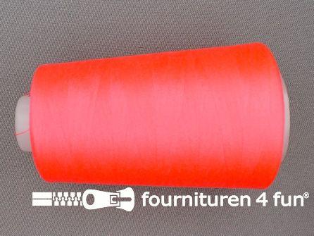 Lockgaren 4 stuks neon roze