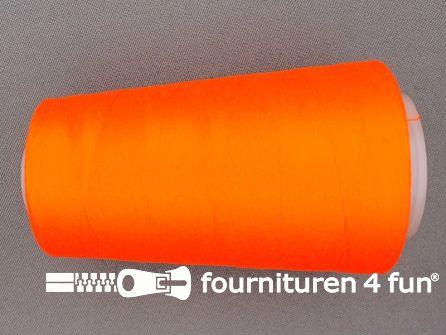 Lockgaren 4 stuks neon oranje