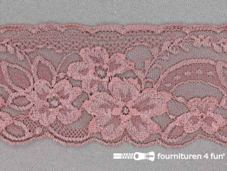 Nylon kant 68mm antique roze