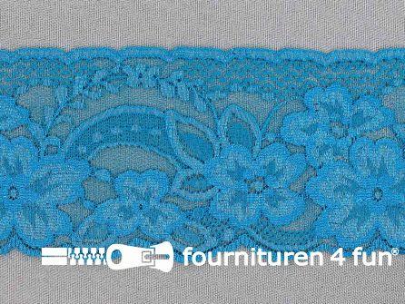 Nylon kant 68mm aqua blauw
