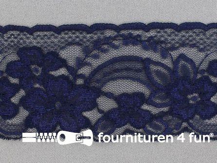 Nylon kant 68mm marine blauw