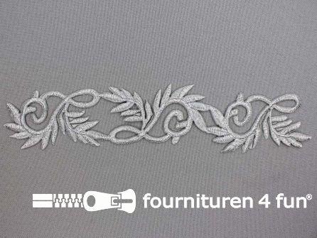 Zilver applicatie 196x37mm
