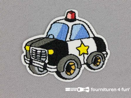 Applicatie 50x40mm politie auto