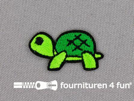 Applicatie 30x15mm schildpad