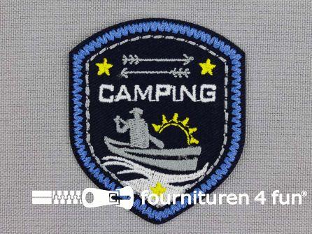 Applicatie 45x54mm 'Camping'