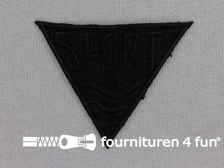 Applicatie 56x48mm 'Sport' zwart