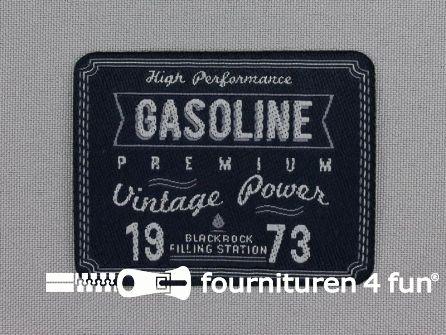Applicatie 65x50mm 'Gasoline'