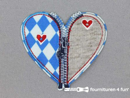 Landhuis applicatie 65x60mm hart