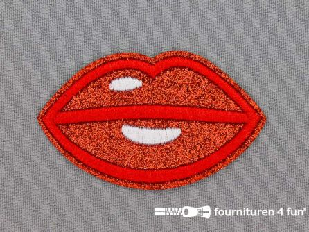 Applicatie 64x38mm lippen - mond