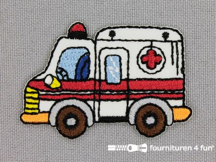 Applicatie 47x32mm ambulance