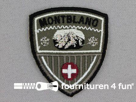 Applicatie 44x51mm 'Montblanc'