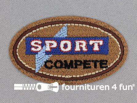 Applicatie 59x35mm 'Sport'
