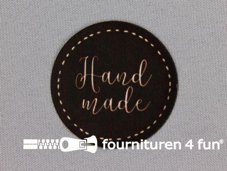 Applicatie Ø 49mm 'Handmade'