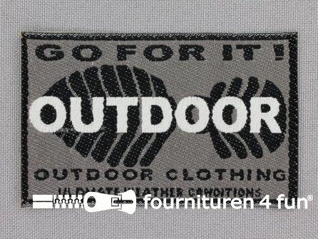 Applicatie 71x44mm 'Outdoor'