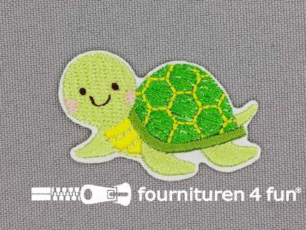 Applicatie 40x25mm schildpad