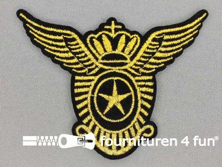 Army / Space applicatie 88x68mm air wings