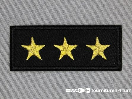 Army / Space applicatie 74x30mm sterren