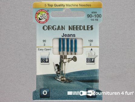 Organ Needles naaimachine naalden - Jeans 90-100