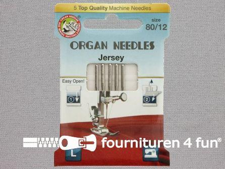 Organ Needles naaimachine naalden - Jersey 80