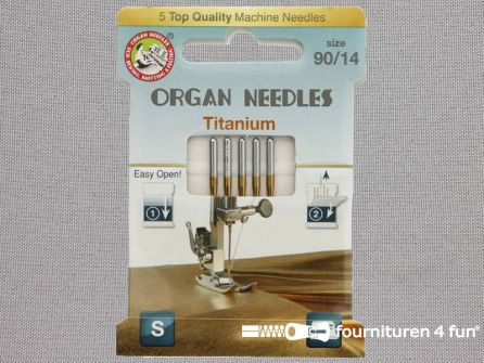Organ Needles naaimachine naalden - Titaan 90