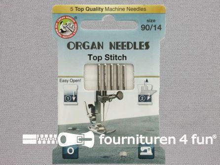 Organ Needles naaimachine naalden - Top stitch 90