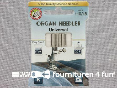 Organ Needles naaimachine naalden - Universeel 110