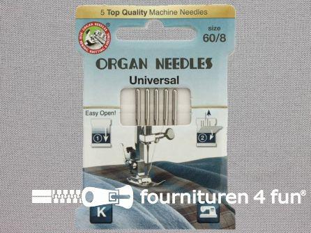 Organ Needles naaimachine naalden - Universeel 60