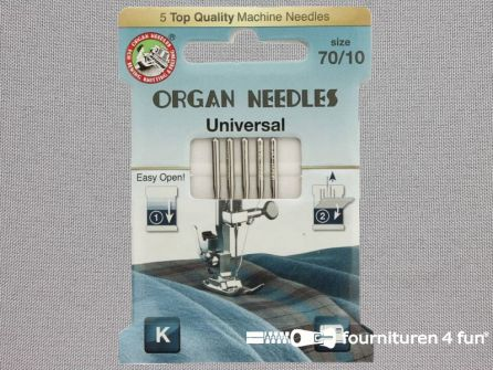 Organ Needles naaimachine naalden - Universeel 70