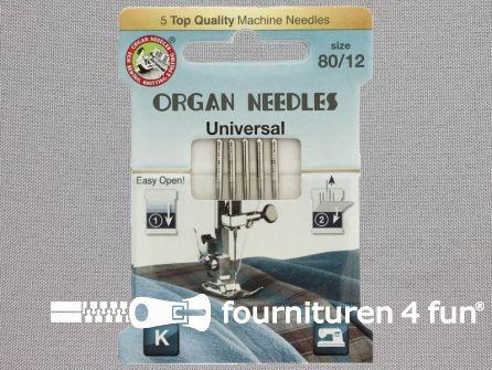 Organ Needles naaimachine naalden - Universeel 80