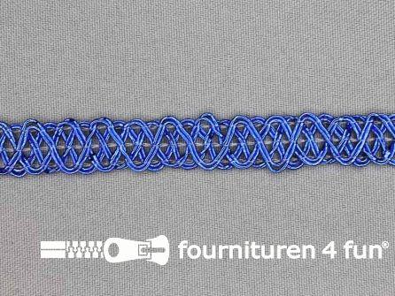 Party band 12mm kobalt blauw