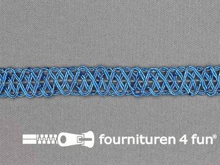 Party band 12mm aqua blauw