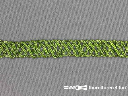 Party band 12mm lime groen