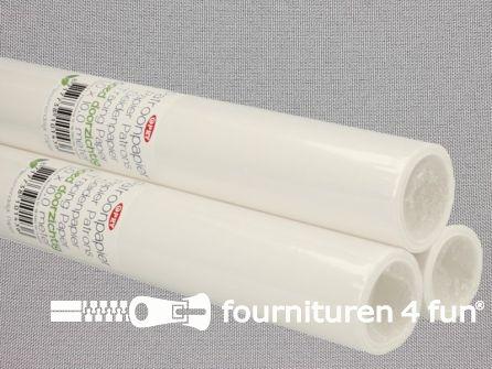 Patroonpapier blanco - 35 rollen van 1x10 meter - OPRY