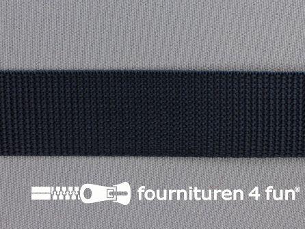 Rol 50 meter PP (polypropyleen) band 30mm donker grijs
