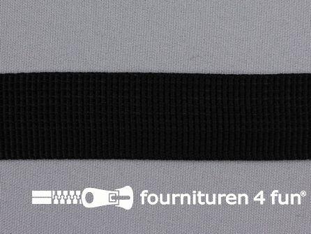 Rol 50 meter PP (polypropyleen) band 30mm zwart