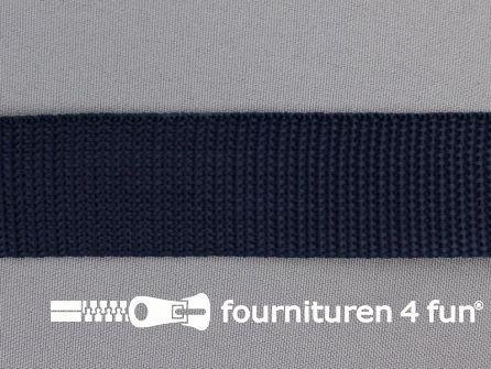 Rol 50 meter PP (polypropyleen) band 30mm donker blauw