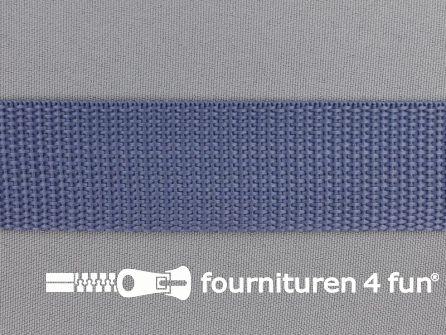 Rol 50 meter PP (polypropyleen) band 30mm staal blauw