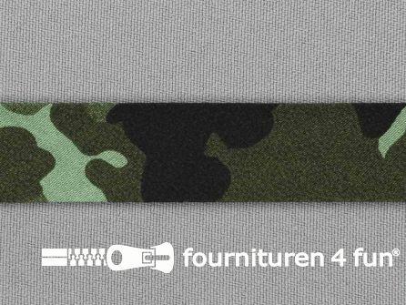 Print bias legerprint groen