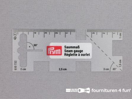 Prym Zoommaatje vierkant transparant - 610732