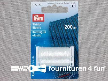 Prym Brei elastiek transparant - 200 meter - 977770