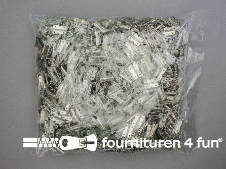 Prym Corsagespelden 27mm zilver - 1000 stuks - 081443