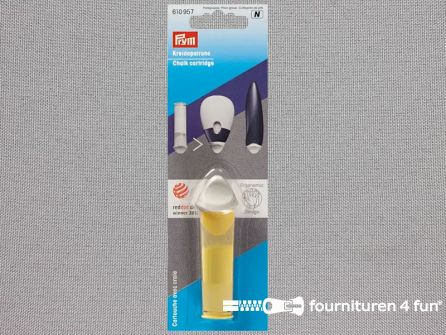 Prym Ergonomisch krijtpatroon - navulling - geel - 610957