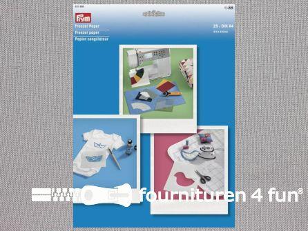 Prym Freezer papier - 25 vellen A4 - 610466