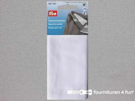 Prym Veiligheidstasje 14x20cm wit - 967180