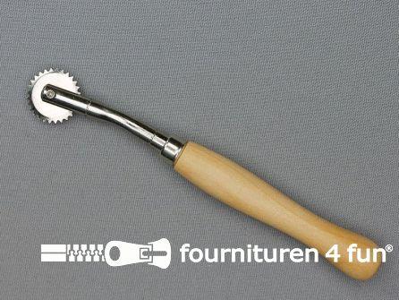 Radeerwiel fijn tandwiel