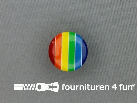Kinderknoop regenboog 15mm multicolor