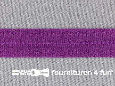 Rekbare vouwtres 20mm paars